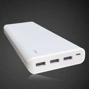 Mighty Power Bank 26,000mAh - 3 USB Ports (White) £19.99 delivered @ MyMemory