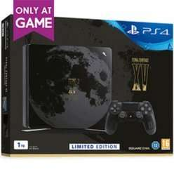 Limited Edition Final Fantasy XV 1TB Playstation 4 Slim Console + Extra dual shock 4 (choice of colours) + 2month Now TV Pass - In store + Online - £279.99 @ GAME