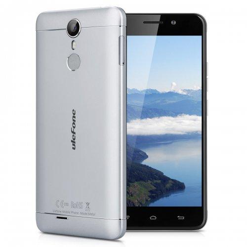 "Ulefone Metal - 4G Smartphone Libre Multitáctil Android 6.0 (Pantalla HD 5.0"", 1.3GHz MT6753 Octa Core, 3GB RAM 16GB ROM, 8.0MP Cámara, GPS, WIFI, Touch ID, Dual SIM)  £80 + P&P @ Amazon.es"