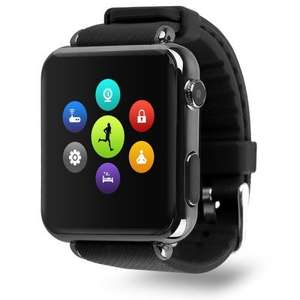 IRadish Y6 Bluetooth Smart Watch-Phone with Micro SIM and Micro SD Support.  £16.03 delivered from Gearbest