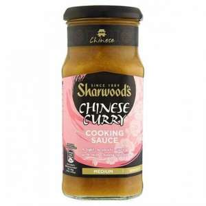 Sharwoods chinese curry sauce just 59p rrp £1.70!! 425g @ b and m