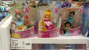 Tiny disney princess dolls, £1.25 asda instore