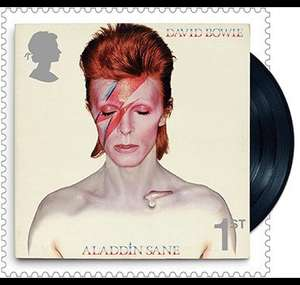 Available to Pre-Order: David Bowie Special Stamps - £3.84 @ Royal Mail (£1.45 del under £5)