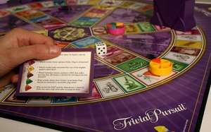 Trivial pursuit family edition down from £30 to £7.50 instore @ Sainsbury's - Durham