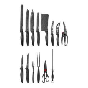 Tower 24PCE STONE COATED KNIFE SET BLACK was £37.99 now £5 INSTORE @ Morrisons