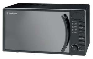 Russell Hobbs 17 litre Black Digital Microwave was £64.99 now £39 @ Amazon / Tesco (C&C)
