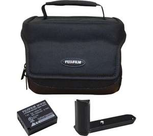 Fujifilm CSC accessories - spare battery, grip and case £9.97 Currys