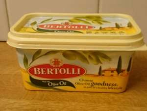 Bertolli Original & Lighter Spreads 500g was £2.08 now £1.00 @ Morrisons