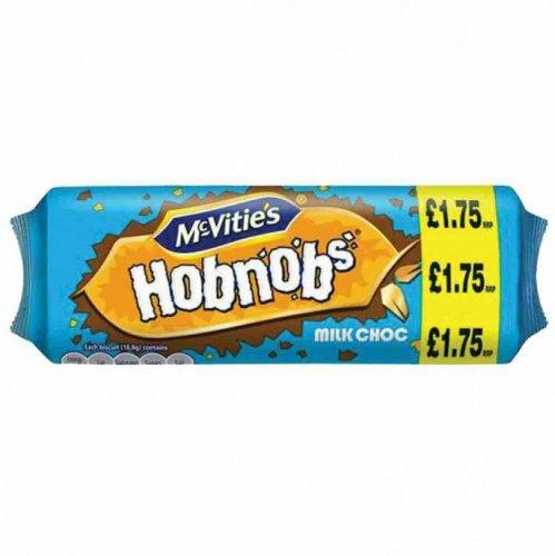 Mcvities milk chocolate hobnobs 300g just 25p rrp £1.75 @ poundstretcher