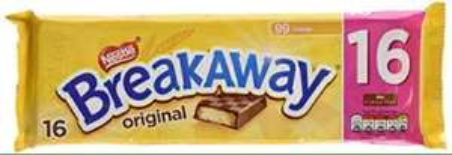 16 Pack of Nestle Breakaway original £1.29 in store @ Homebargains still got loads of stock