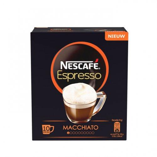 Nescafe Espresso Macchiato - 10 sachets for 10p at Poundstretcher