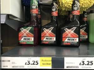 REDEX petrol and diesel 1 litre instore at Tesco for £3.25