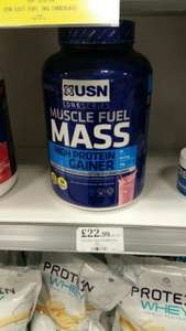Usn mass gainer protein £22.99  home bargains