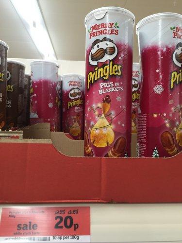 Pringles Pigs in Blankets 20p @ Sainsbury's