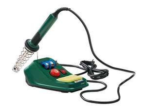 Soldering station - 48w with spare tip and temp control. £8.99 @ Lidl