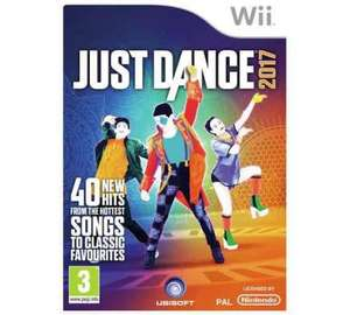 just dance 2017 Wii £19.99 @ Argos (Free C&C)