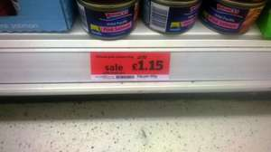 Princes Wild Pacific Pink Salmon 213g £1.15 in sainsbury's while stocks last