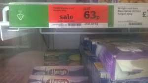 Weight Watchers Beef Lasagne 300g 63p in sainsbury's while stocks last
