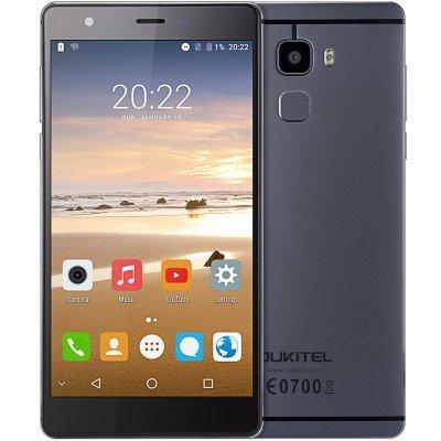 OUKITEL U13 4G Phablet  -  GRAY MTK6753 Octa Core 3GB RAM 64GB ROM £104.21 at GearBest
