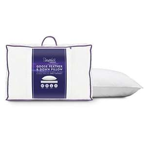 TESCO Slumberdown Goose Feather Pillow £10 (NOT IN MATALAN)