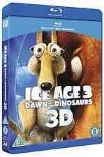 [Blu-ray 3D + Blu-ray] Ice Age 3: Dawn of the Dinosaurs £2.71 [sold by musicMagpie] £2.81 (Prime)