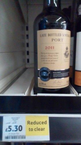Tesco RTC Late Bottled Vintage Port 2011 £5.30 instore