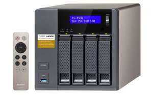 QNAP TS-453A-4G 4-bay NAS at ebuyer for £389.99