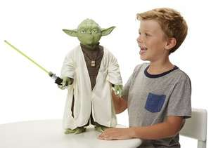 "Star Wars Yoda Jakks Big Fig 18"" £21.00 delivered @ John Lewis"