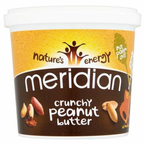 Meridian crunchy peanut butter 1kg just £4.49 @ ocado