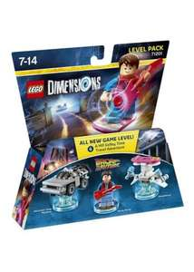 LEGO Dimensions - Back to the Future Level Pack - £10.99 @ Base / Mission Impossible £12.99 / Harry Potter Team Pack £12.99
