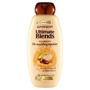 garnier ultimate blends shampoo pack of 6 400ml @ Amazon - £3 - Add on item