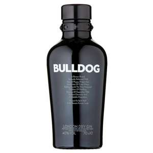 Bulldog London Dry Gin 70Cl (40%) - Just £11 **INSTORE** At Tesco Was £22 - Piccy Proof In Post