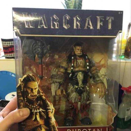 Warcraft 6inch figures, Durotan, Blackhand and more £5.99 @ Home bargains (Retford)