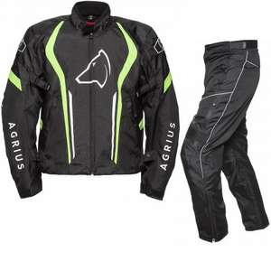 Agrius Phoenix/Orion  Motorcycle Jacket & Hydra Trousers Black Hi-Vis Black Kit £85.49 (with code: EXIT10) + FREE del. @ ghostbikes.com