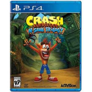 Crash Bandicoot N Sage Trilogy (PS4) £32.10 @ Play Asia