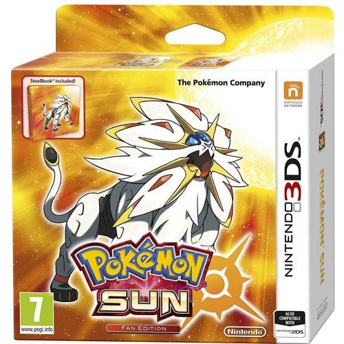 Pokemon Sun / Moon Fan Edition (Steelbook) £33.99 @ Simply Games