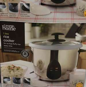 Asda brand Rice Cooker £10 instore