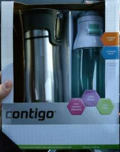 Contigo Travel Mug and Water bottle double pack £13.80 @ Tesco instore - Wigan