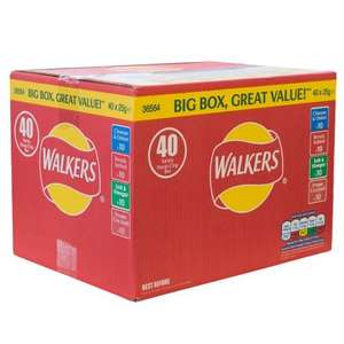 walkers crisps 40 pack £4 @ tesco instore