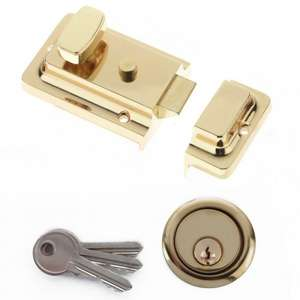 Yale night latch brass just £4.99 was £12.99 @ B&M