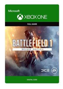 Battlefield 1 Deluxe Edition [Xbox One Download Code] - £19.99 @ Amazon