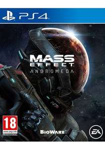Mass Effect Andromeda with Pre-Order Bonus on PlayStation 4 £39.85 @ Simply Games