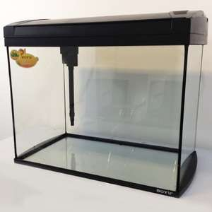 84 Litre glass aquarium with Powerhead Hood Filtration System 24w lighting £67.98 delivered @ All Pond Solutions