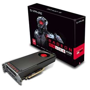Sapphire AMD Radeon RX 480 8GB Graphics Card £199.99 @ Amazon
