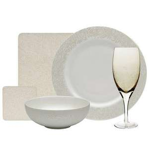 Monsoon Lucille Gold 20 piece entertaining set was £146 now only £99 delivered.@ Denby.co.uk