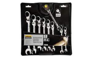 Halfords Advanced 9 Piece Ratchet Spanner set reduced from £80 to £35