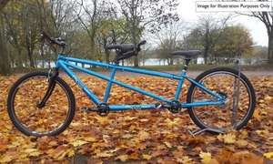 Why not tandem for less than the cost of many of the single bikes shown here (ex hire) £499.99 @ rutlandcycling.com