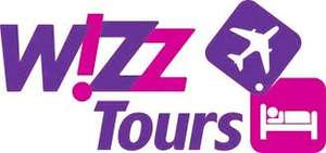 €50 off any holiday with Wizztours. Example weekend in Warsaw 46 EUR each (flight and hotel), many other destinations available.