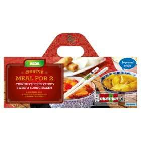 Asda Chinese Meal for 2 £4 Asda