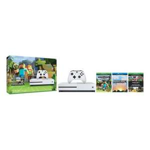 Xbox One S 500gb Mine craft edition £219.99 Hughes